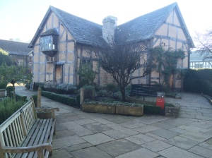 Shakespeare's house in Straford