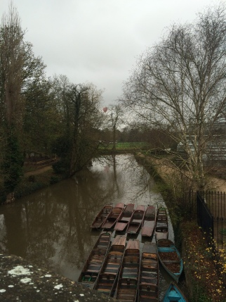 Thames and punts
